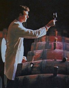 John Bird in his days as Penfolds Senior Red Winemaker at Magill Cellars.