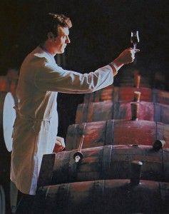 John Bird in his days as Penfolds Senior Red Winemaker at Magill Cellars.