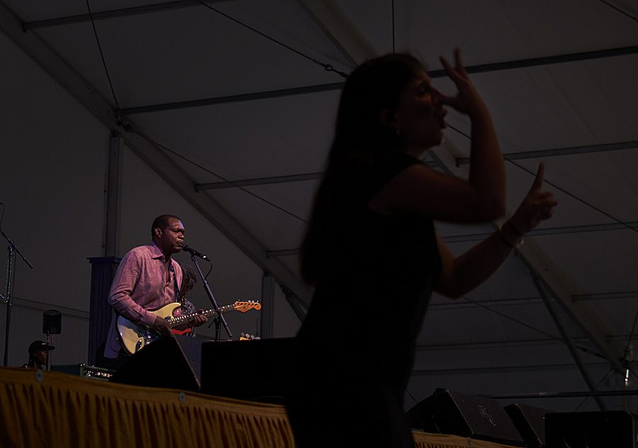 Anne Maries next career move _ A signer for a blues band !!
