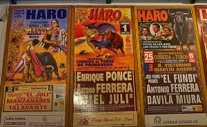 Haro : Bull fighting country as well.