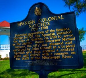 Spanish colonial history.