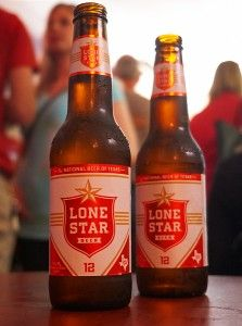 Plenty of LONE STAR.