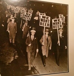 Austin protest  to end probibiton in 1920.