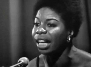 A Nina Simone recording part of the Show.