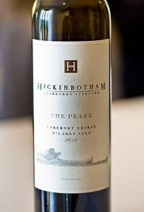 Hickinbotham 'The Peake' Cabernet Shiraz.