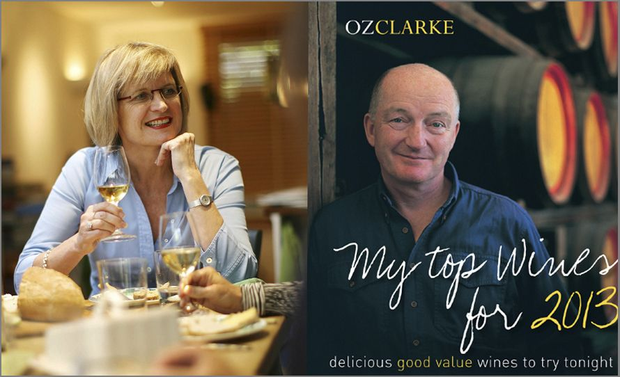 Oz Clarke and Jancis Robinson MW.
