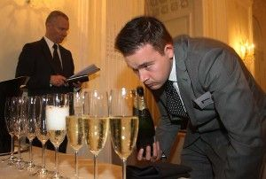 Clement Robert, head sommelier at Medlar restaurant and 2014  Moet UK Sommelier  of the year.