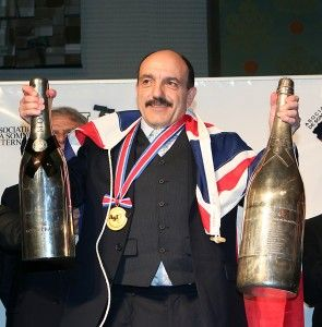 Gerard Basset, in 2010, the best Sommelier in the World.