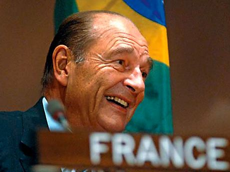 Jacques Chirac . Photo supplied.