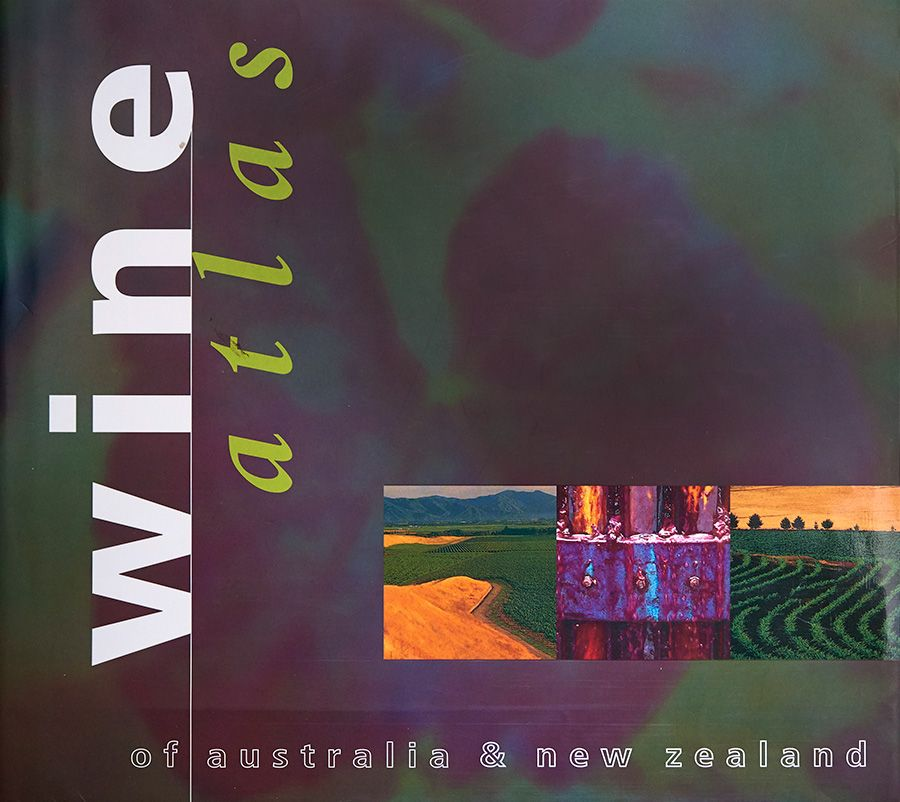 Jame's Wine Atlas 1998 with three of my images on the front cover. Photo : Milton Wordley.
