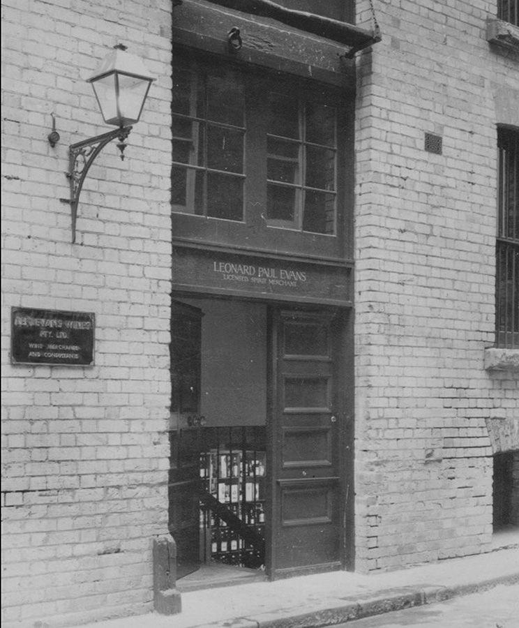 Len Evans Wines Bulletin Place, Sydney : Photo Supplied.