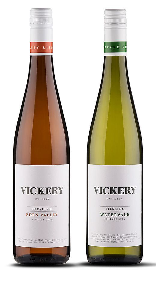 The Vickery wines.