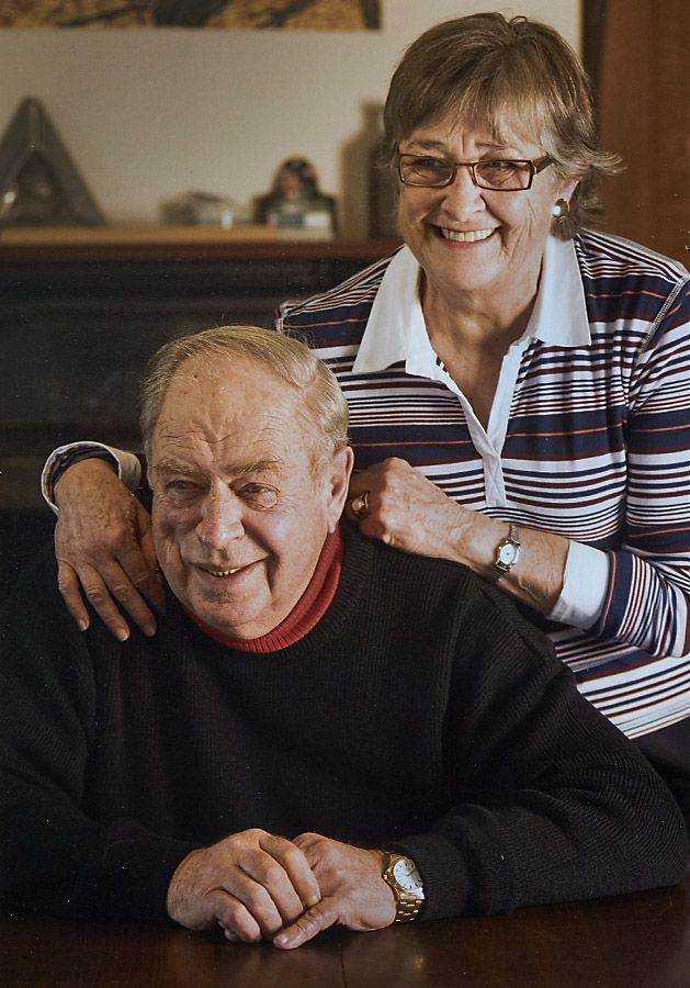 Peter and Margaret Lehmann. Photo supplied.