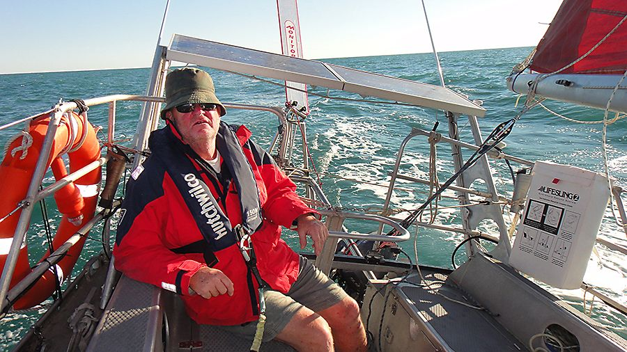 Larry off the coast of The Kimberly, Northern Western Australia : Photo Supplied.