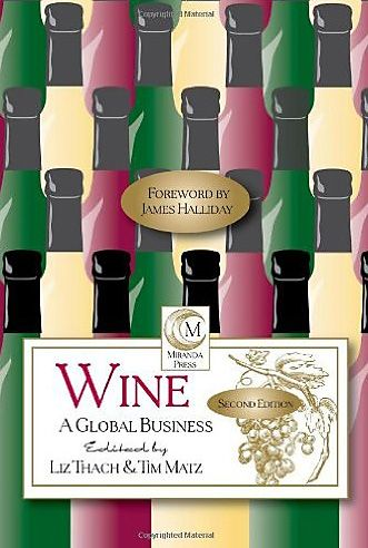 Liz and Tim's book : Wine a Global Business.