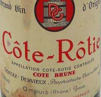 Domaine Gentaz Dervieux Cote Rotie Rhone Wine : Photo supplied by The Wine Cellar Insider.