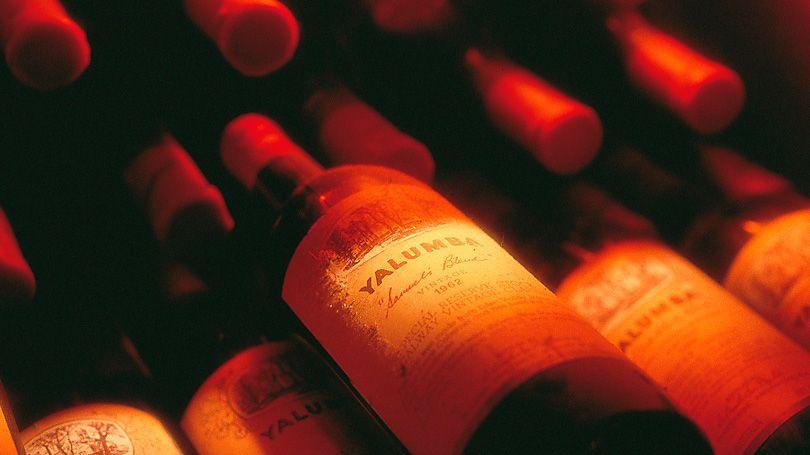 'The Signature 1962'. The Yalumba Cabernet Sauvignon & Shiraz blend. Photo : Milton Wordley.