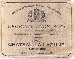 Chateau La Lagune 1962.