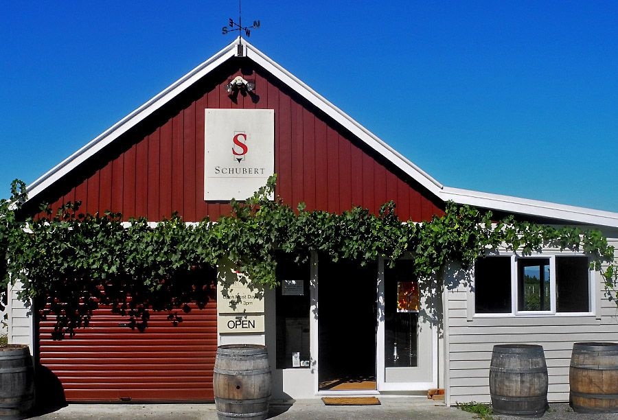 Schubert Wines tasting room.