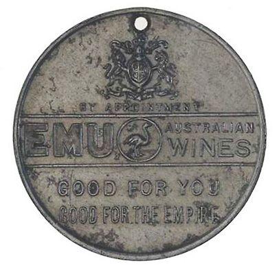 EMU WINES medallion.