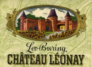 Early Leo Buring Chateau Leonay label.