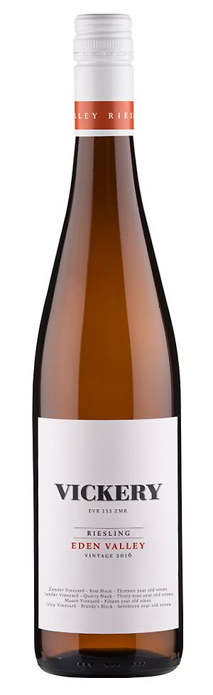 The  VICKERY 2016 Eden Valley riesling.