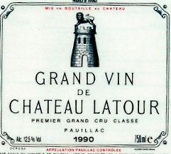 1990 Château Latour.