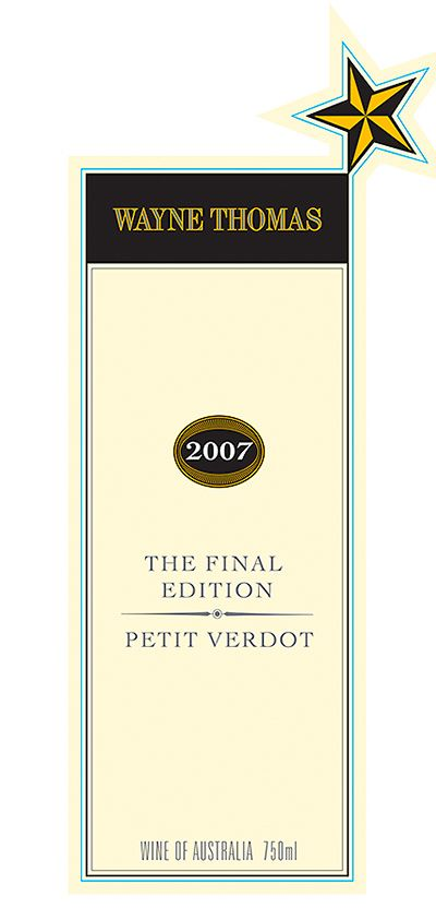 Wayne Thomas 'THE FINAL EDITION' label.