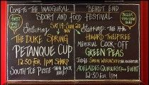 The first-ever Beirut End Sport and Food Festival