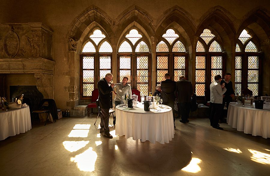 Club Tresors Tasting at Demeure des Comtes de Champagne, during the Champagne week in April 2016 in Reims : Photo © Milton Wordley