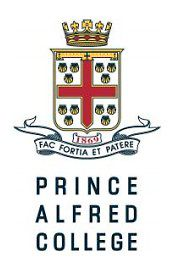 Prince Alfred College logo.