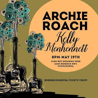 Archie Roach and Kelly Menhennett poster.