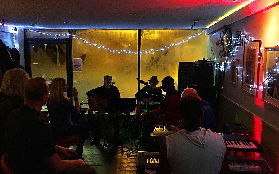 "A great night at Charmaine's local local ""Ostara"" 185 Merton Rd, London."