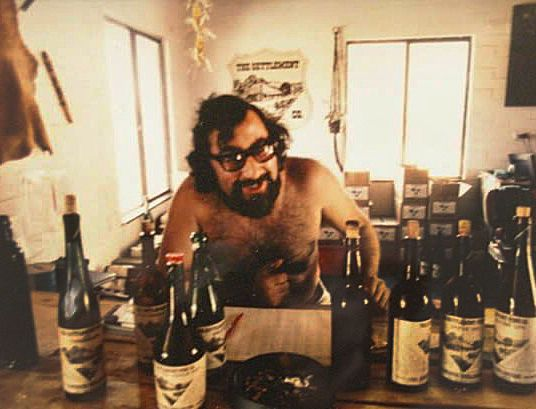 "Vincenzo "" Enzo"" Berlingieri at the Settlement Winery in the 1970's."