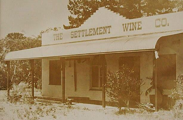 Settlement Winery , cellar door ing the 1970's