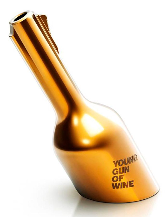 'Young Guns of Wine' trophy.