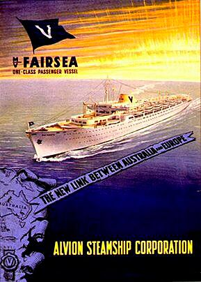 The 'Fairsea' ship.