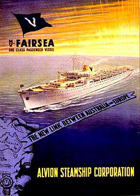 The 'Fairsea' ship.