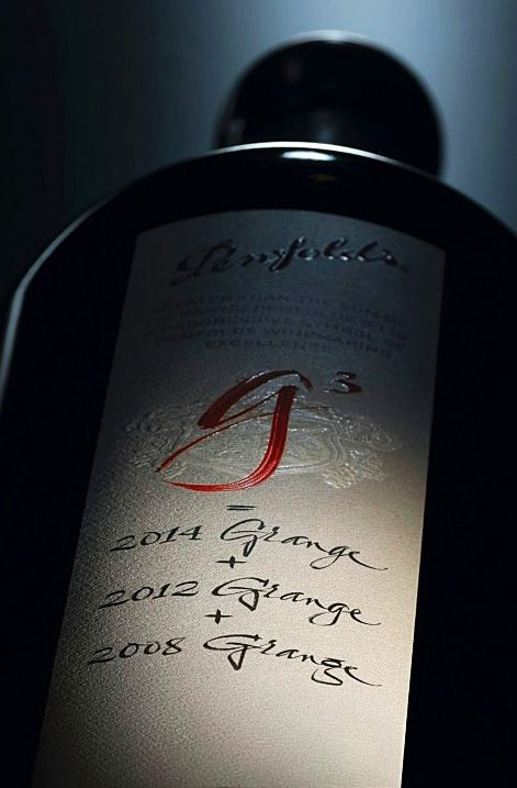 A blend of blends. A world class wine Penfolds g3 : Image supplied.