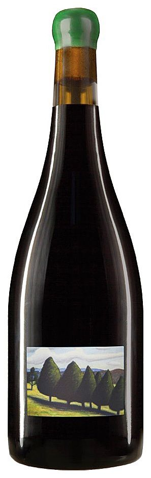 Reg Mombassa label on the 'William Downie Gippsland' Pinot Noir 2015.