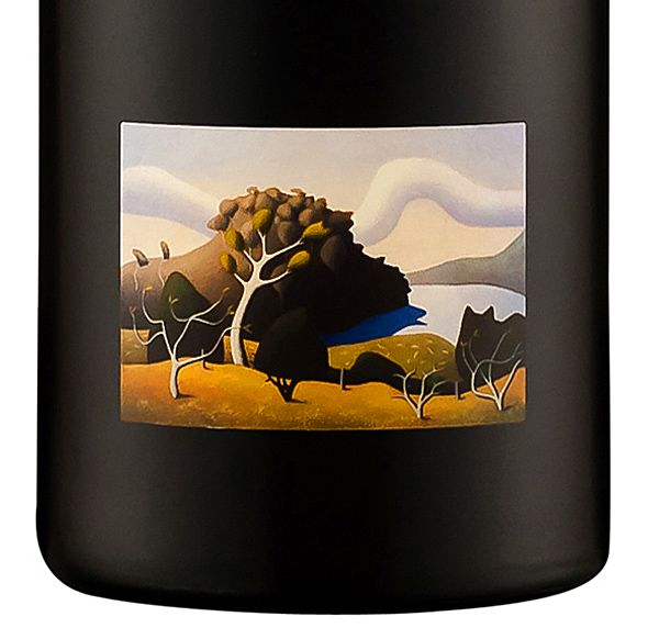 One of Reg Mombassa's painting on the Label.