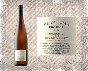 The Petaluma Project Co Clare reisling.