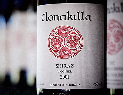 Clonakilla 'Shiraz Viognier' is regularly in the 'Exceptional' Category of the Langtons Classification list : Photo © David Reist.