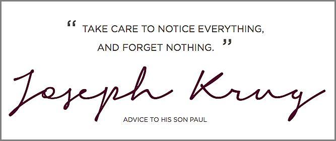 Good advice to give anyone.