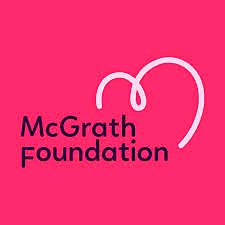 The McGrath Foundation, this year's national charity partner.